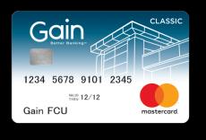 Gain Classic Mastercard